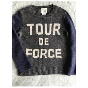 Crewcuts boy sweater
